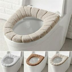 US Soft Bathroom Toilet Seat Closestool Washable Warmer Mat