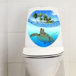 Water Resistant Vinyl Decal Toilet Seat Vinyl Sticker 15inch
